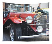 1929 Mercedes Benz Front And Side View Tapestry