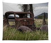 1930s Chevy Coupe-autos-image Tapestry
