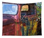 1930s Pickup Truck Tapestry