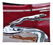 1934 Ford 6 Wheel Equip Hood Ornament Tapestry