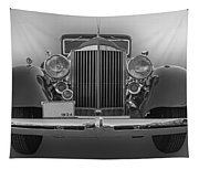 1934 Packard Black And White Tapestry