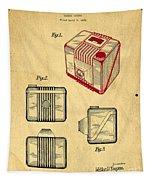1935 Kodak Camera Casing Patent Tapestry