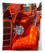 1935 Orange Ford-front View Tapestry