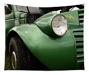 1936 Funeral Truck Headlight Tapestry