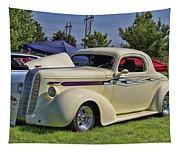 1936 Pontiac Hood Ornament Tapestry