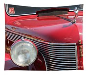 1937 Desoto Front Grill And Head Light-7289 Tapestry