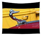 1937 Desoto Hood Ornament-7277 Tapestry