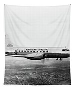 1940s 1950s American Airlines Convair Tapestry by Vintage Images