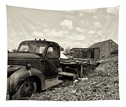 1941 Chevy Truck In Sepia Tapestry