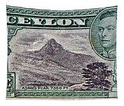 1946 Ceylon - Sri Lanka - Stamp Tapestry