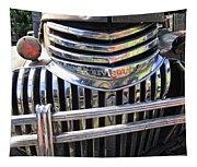 1946 Chevrolet Truck Chrome Grill Tapestry