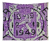 1949 Belgium Stamp - Brussels Cancelled Tapestry