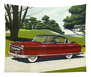 1953 Nash Rambler - Square Format Image Picture Tapestry