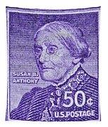 1954-1961 Susan B. Anthony Stamp Tapestry