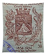 1954 El Salvador Stamp Tapestry
