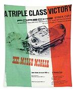 1954 Xxi Mille Miglia Tapestry