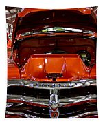 1955 Chevrolet Truck-american Classics-front View Tapestry
