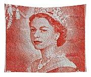 1956 Queen Elizabeth New Zealand Stamp Tapestry