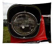 Old Car Headlight Tapestry