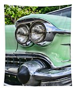1958 Cadillac Headlights Tapestry