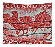 1958 Overland Mail Stamp Tapestry