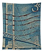 1958 The Mighty Mac Stamp Tapestry