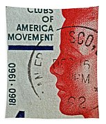 1960 Boys' Clubs Of America Movement Stamp Tapestry