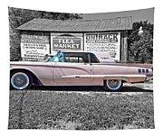 1960 Thunderbird Bw Tapestry