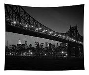 1960s Queensboro Bridge And Manhattan Tapestry