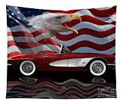 1961 Corvette Tribute Tapestry