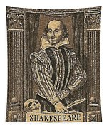 1964 William Shakespeare Postage Stamp Tapestry