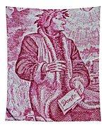 1965 Dante Anniversary Stamp Tapestry