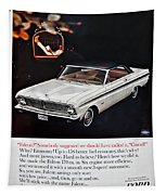 1965 Ford Falcon Ad Tapestry