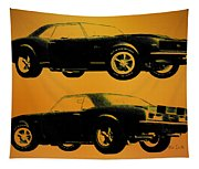 1968 Camaro Ss Side View Tapestry