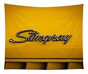 1971 Chevrolet Corvette Stingray Emblem Tapestry