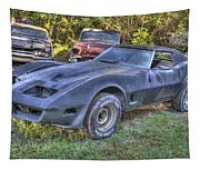 1977 Corvette Black Tapestry