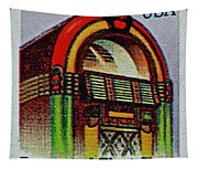 1995 Jukebox Stamp Tapestry