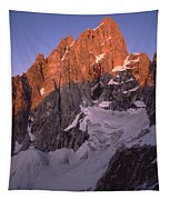 1m9380-sunrise On The North Face Of Grand Teton Tapestry
