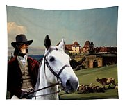 Dachshund Art Canvas Print Tapestry