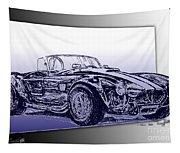 1965 Shelby Ac Cobra Tapestry