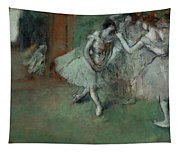 A Group Of Dancers Tapestry