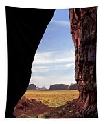 A Monument Valley View Tapestry