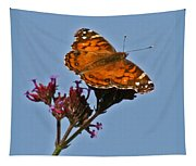 American Lady Butterfly Tapestry