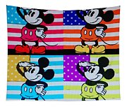 American Mickey Tapestry