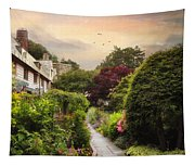 An English Garden Tapestry