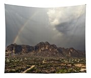 At The End Of The Rainbow  Tapestry