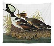 Audubon Merganser Tapestry