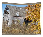 Autumn Barn Tapestry