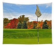 Autumn Golf Tapestry