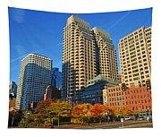 Autumn In Boston Tapestry